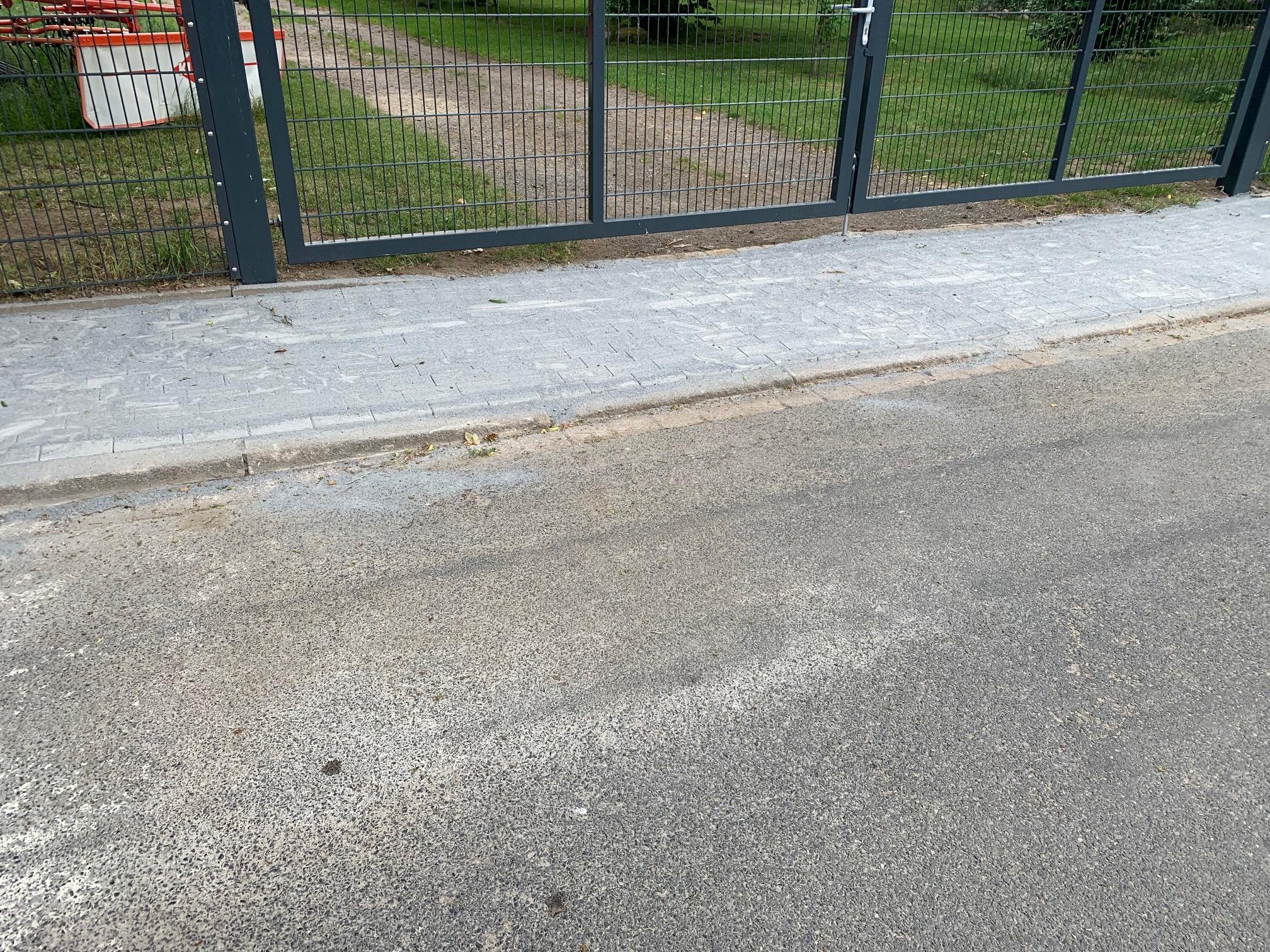 Pflasterung Mühlenstraße